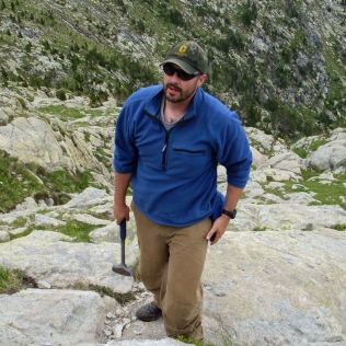 Jim in the Pyrenees